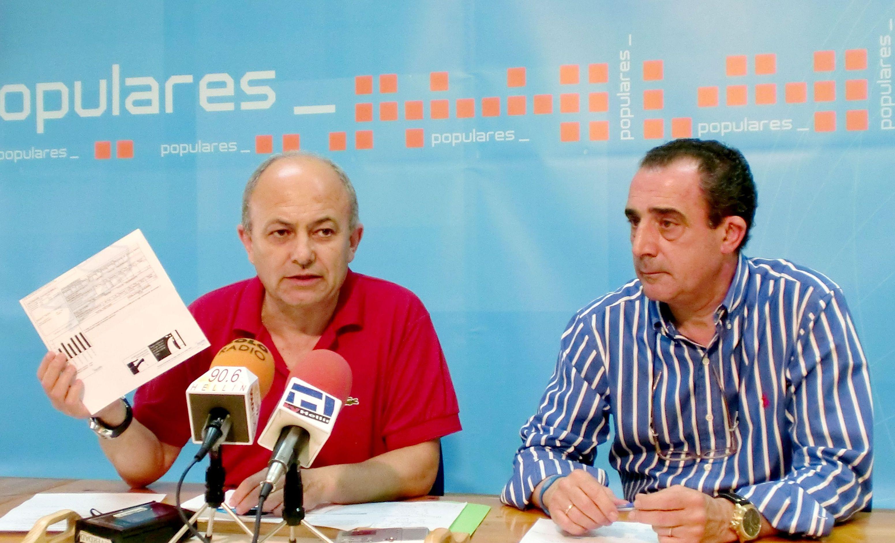 Alonso Pérez y Manuel Minguez